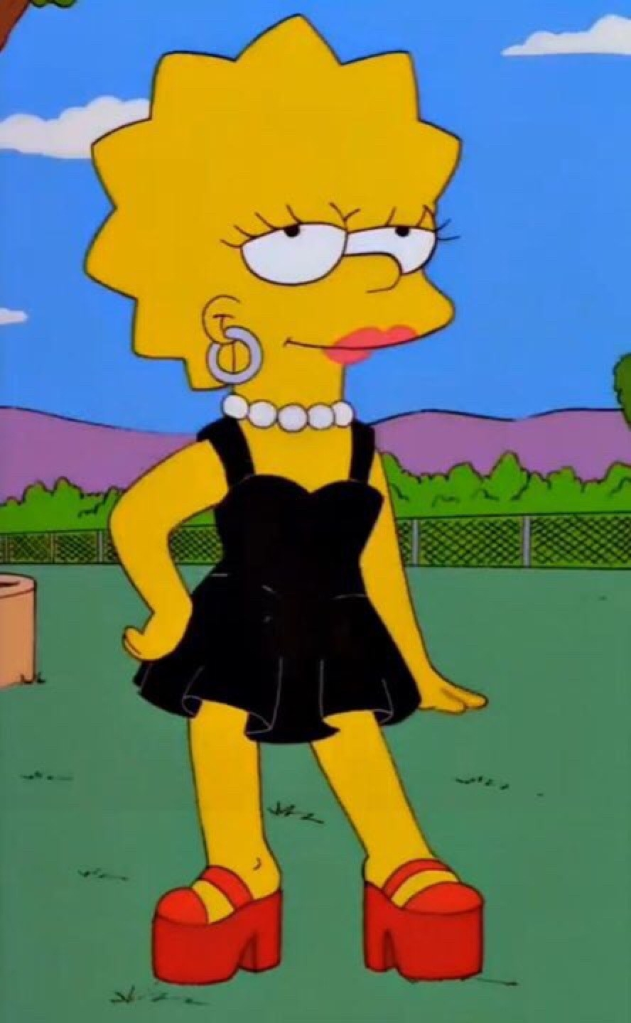 Prostitute Lisa Simpson