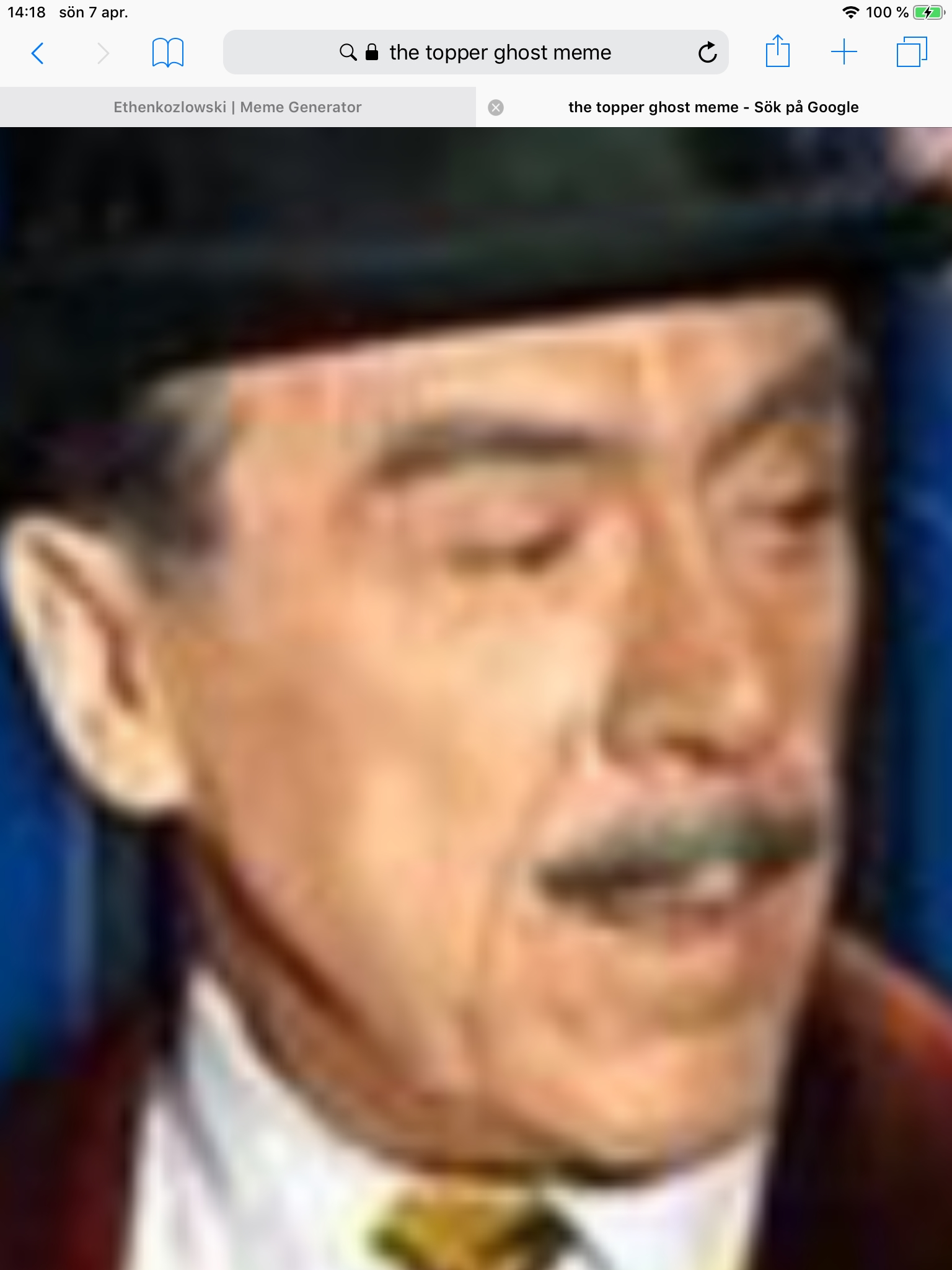 Old man topper