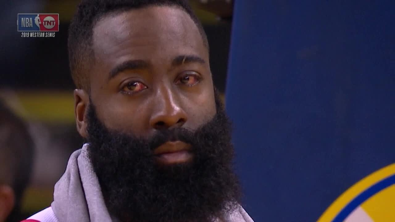 James Harden Crying
