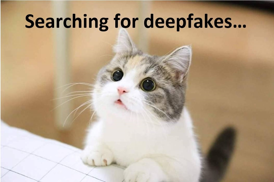 Deepfakes cuz it doesn't exist