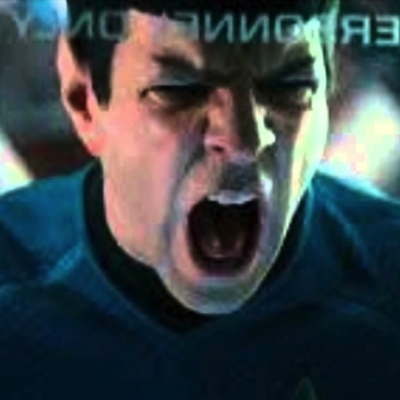 Spock screaming Khan