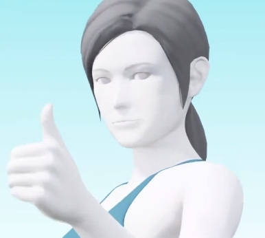 Wii Fit Trainer Annoucement