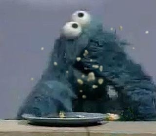 Messy Cookie Monster