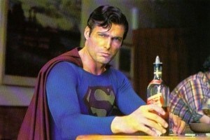 Evil Drunk Superman