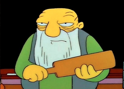 Now That's a Paddlin'