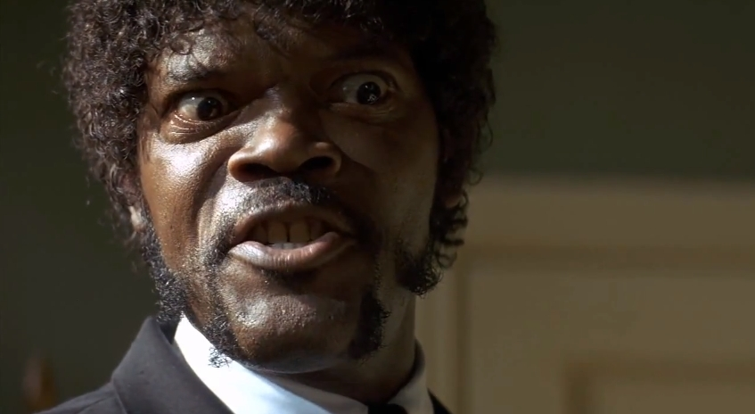 Samuel Jackson pulp fiction