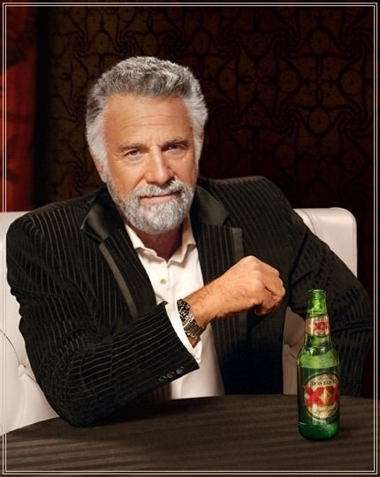 Dos Equis Guy gives advice