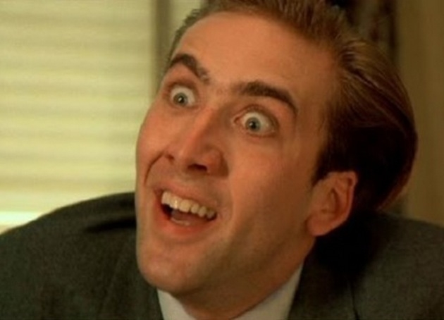 Nicolas Cage See how much i care