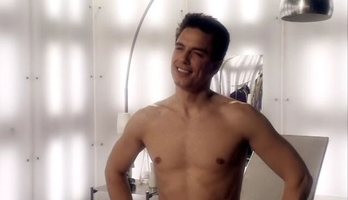 Naked Captain Jack Harkness
