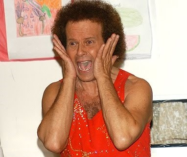 Richard Simmons Screaming