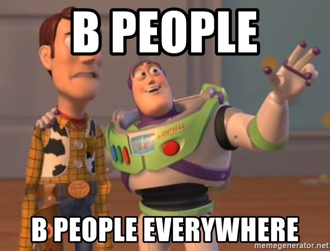 Tseverywhere - b people B people everywhere