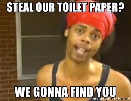 Antoine Dodson - Steal our toilet paper? we gonna find you