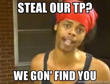 Antoine Dodson - Steal our tp? we gon' find you