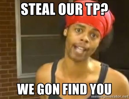 Antoine Dodson - Steal our tp? we gon find you