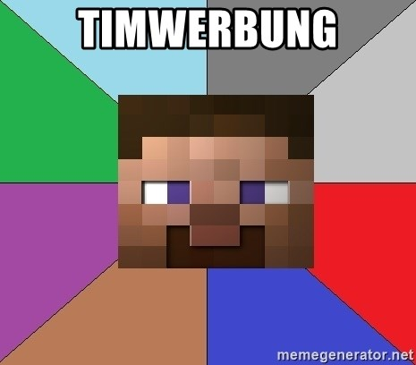 Minecraft-user - TimWerbung