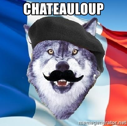 Monsieur Le Courage Wolf - CHATEAULOUP