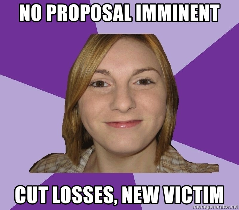 Generic Fugly Homely Girl - No proposal imminent cut losses, new victim