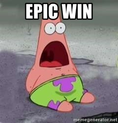 D Face Patrick - EPIC WIN