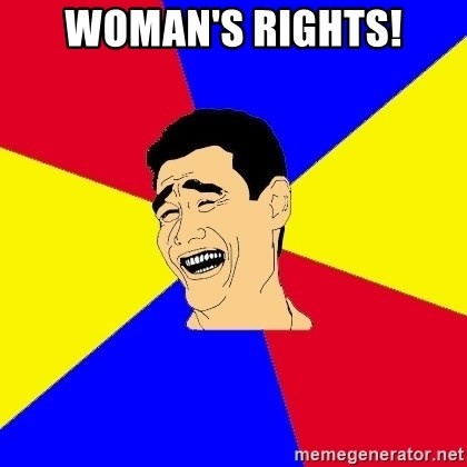 journalist - Woman's Rights!