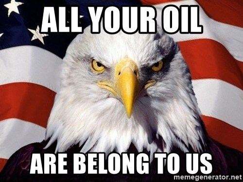 American Pride Eagle - All your oil are belong to us