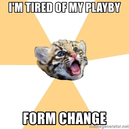 facebook roleplay ocelot - i'm tired of my playby form change