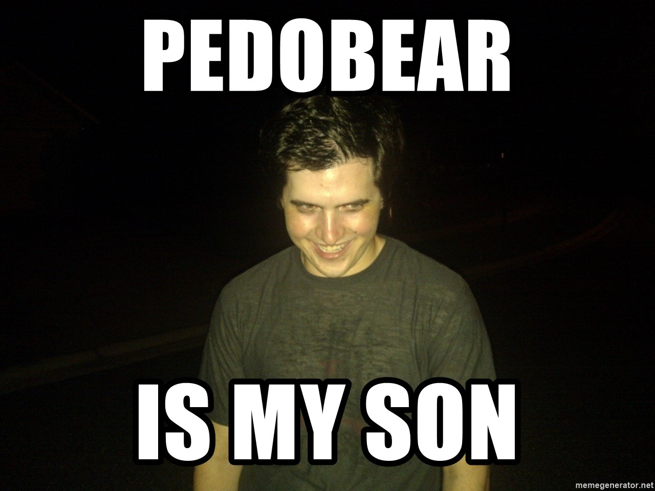 Rapist Edward - Pedobear Is my son