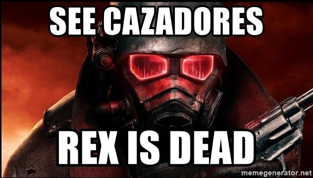 Fallout  - See cazadores rex is dead