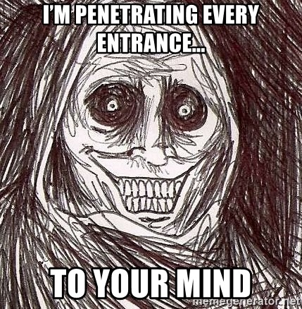Shadowlurker - I'm penetrating every entrance... to your mind