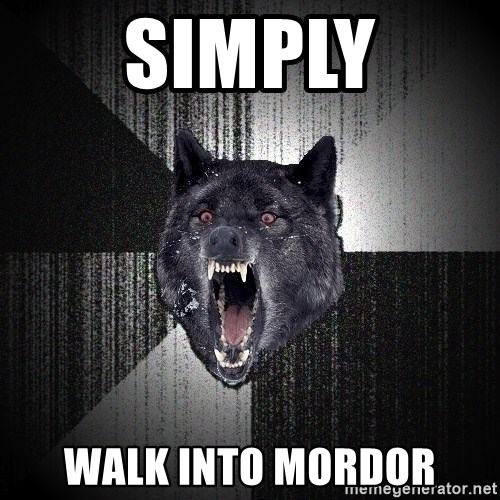 Insanity Wolf - SIMPLY walk into mordor