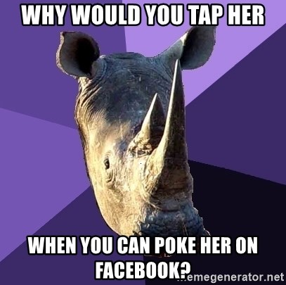 Poke on facebook sexually