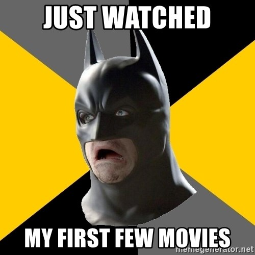 Bad Factman - Just watched My first few movies