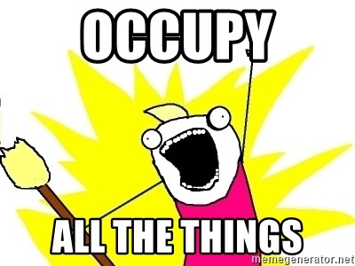 X ALL THE THINGS - Occupy  All The Things