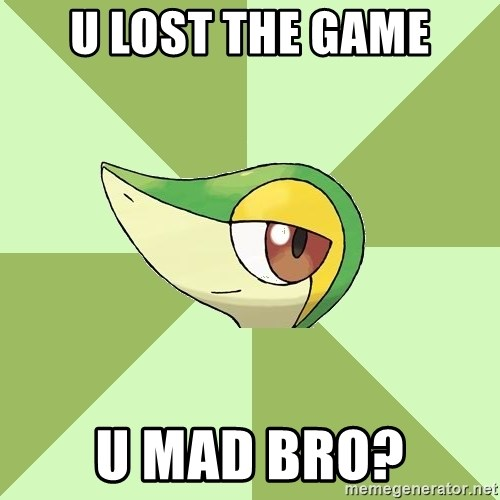 Smugleaf - u lost the game U mad bro?