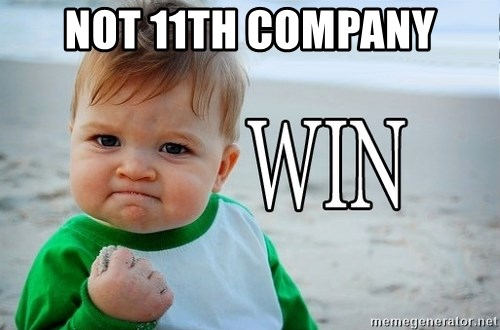 Win Baby - Not 11th Company