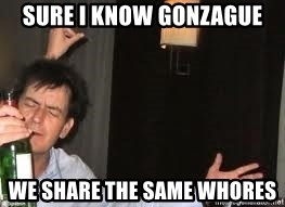 Drunk Charlie Sheen - Sure I Know gonzague we share the same whores