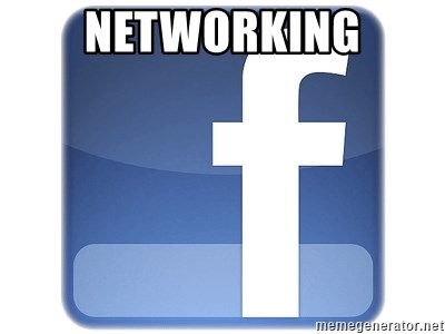Facebook Logo - NETWORKING