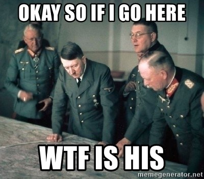 Hitler and Advice Generals - okay so if i go here WTF is his