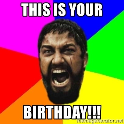 sparta - this is your birthday!!!