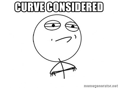 Challenge Accepted - curve considered