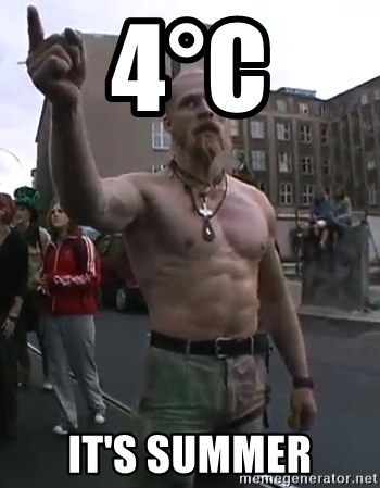 Techno Viking - 4°C it's summer
