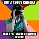 Professional Teenage Photographer - got a 1200$ camera take a picture of my remote control