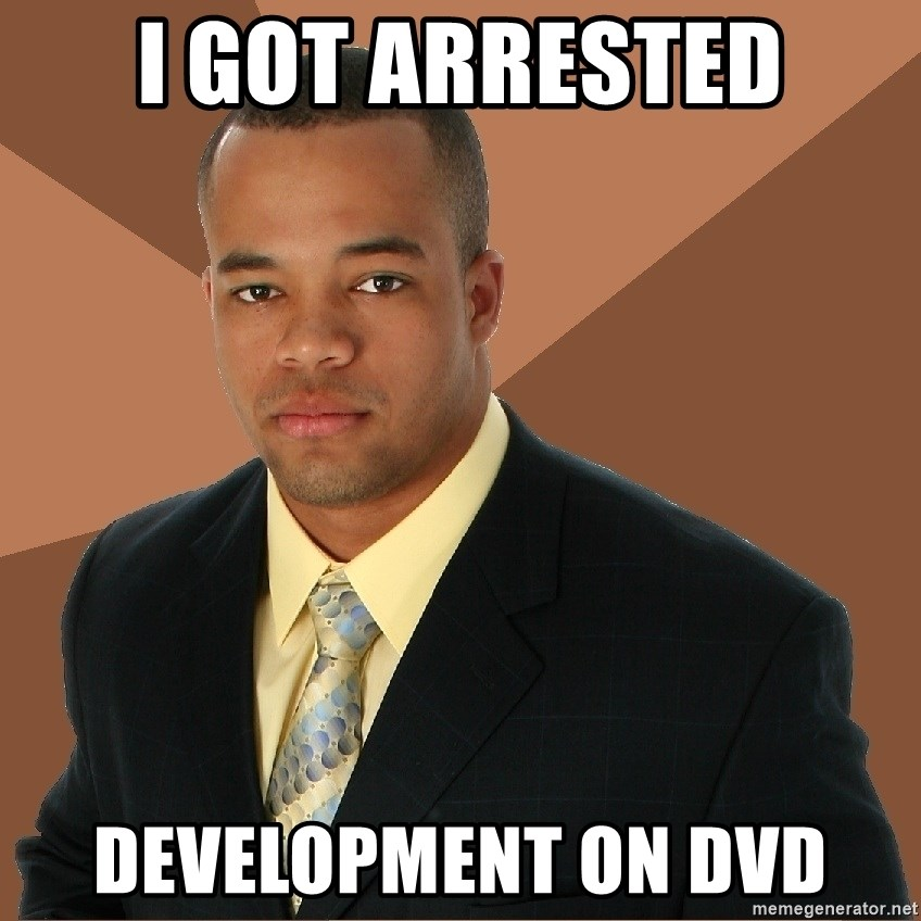 Successful Black Man - I got arrested development on DVD