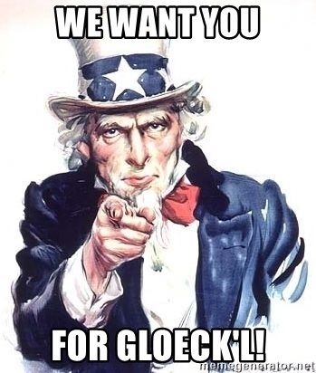 Uncle Sam - We want you for gloeck'l!