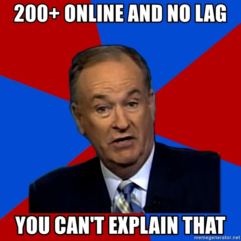 Bill O'Reilly Proves God - 200+ online and no lag you can't explain that