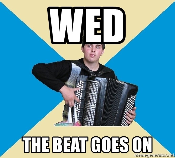 X The Musical Student X - Wed the Beat Goes on