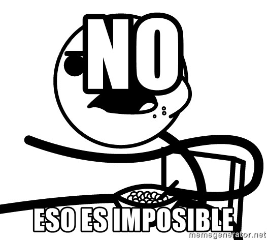Cereal Guy - No eso es imposible