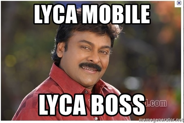 Typical Indian guy - Lyca mobile lyca boss