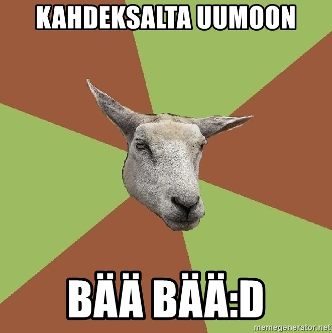 The Gamer Sheep - kahdeksalta uumoon bää bää:D
