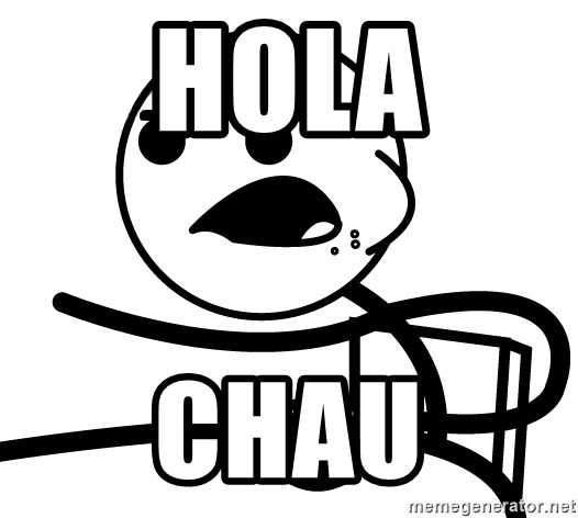 Cereal Guy - hola chau