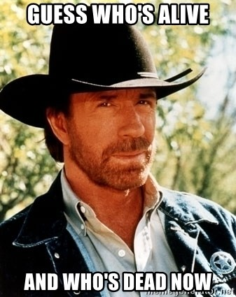 official site vast selection super cute GUESS WHO'S ALIVE AND WHO'S DEAD NOW - Chuck Norris Pwns ...